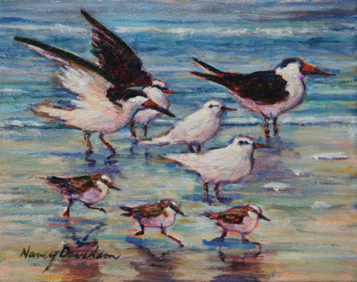 Beach Birds (large view)