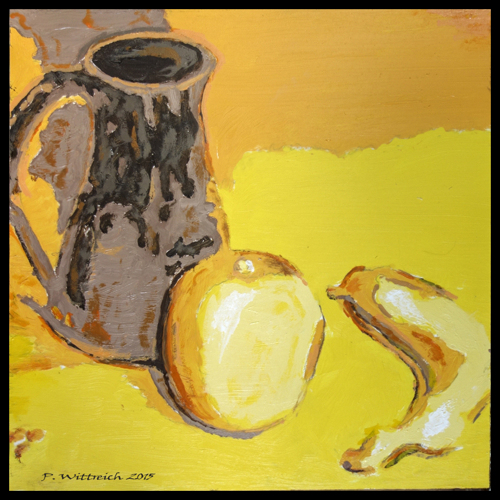 A Pitcher An Orange A Banana by pwitt-wingwitt.com