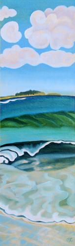 Scarborough 16 by Peggy Clark Lumpkins