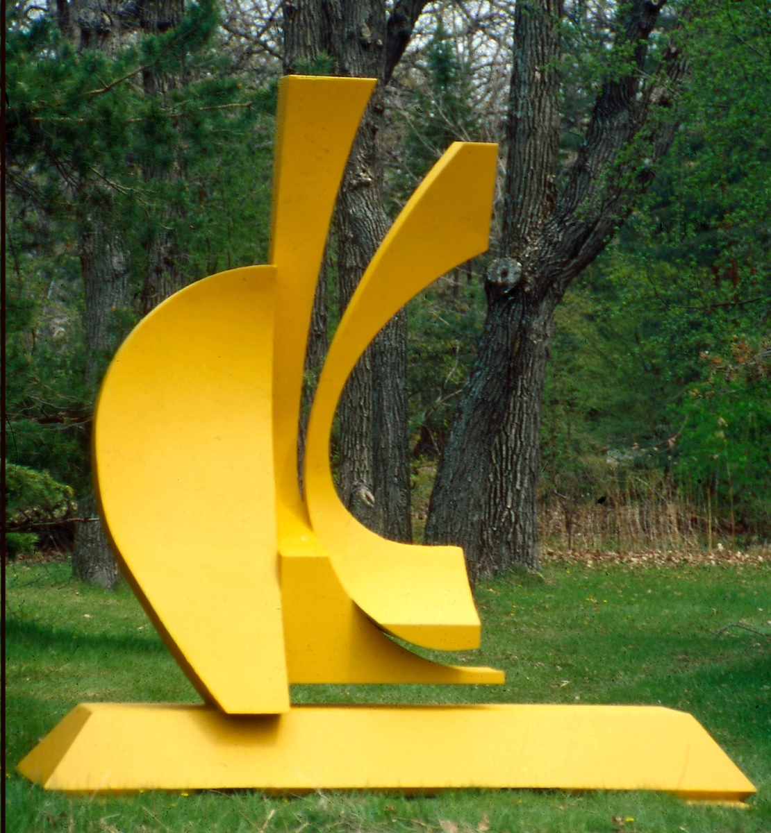 Abstract Metal Sculpture: Three Queens - Evolution - By Richard ...