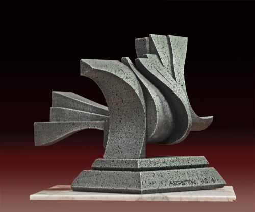 Abstract Sculpture - Cadre
