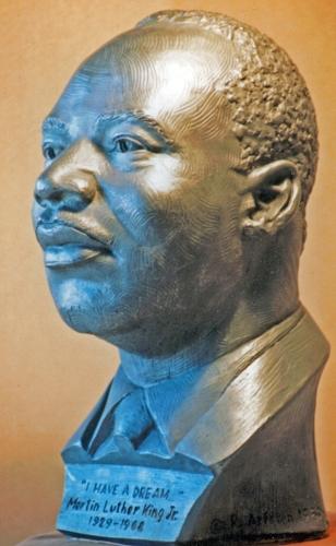 Dr. King (older) by Richard Arfsten
