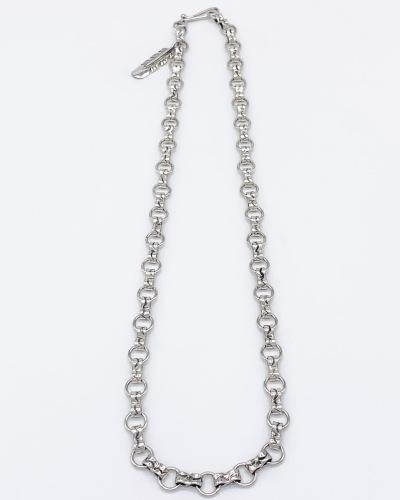 """24"""" Handmade Silver Chain"""