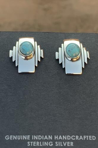 Navajo Rug Design Earrings