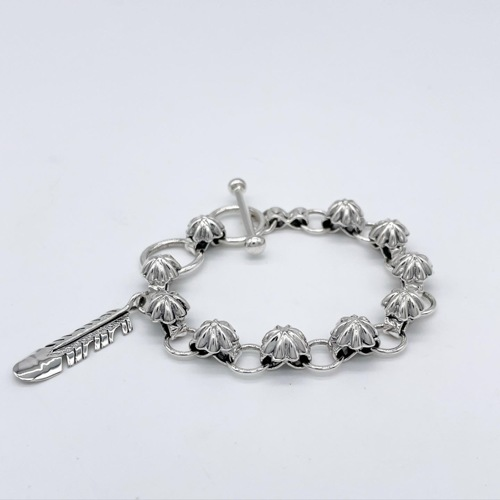 Fluted Infinity Chain Bracelet