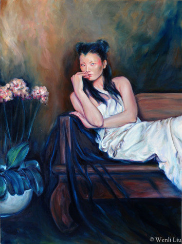 Crimson by Wenli Liu