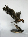 Sculpture, Bird, Osprey, Nature, Florida, Predator - Expressionist Sculpture