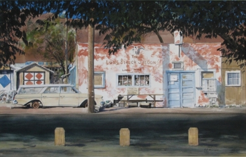 The Long Branch Saloon, Luning, Nev. by Richard Eaves Woods Arts