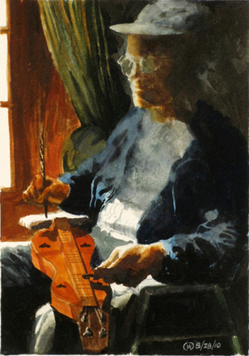 Dulcimer Player II