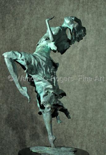 Raindance by Wanda  C Rogers - Author & Fine Artist