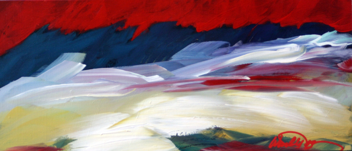 colorful abstract landscape  (large view)