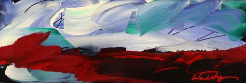Distant Dark Treeline by Wendell Myers