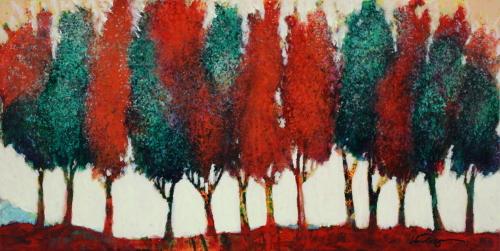 October Tree Line #4