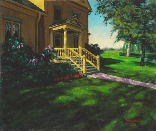 Sunlit Porch, Wheeler Farm