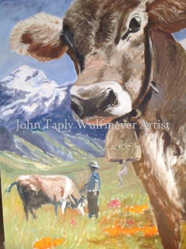 Swiss Cow Herding