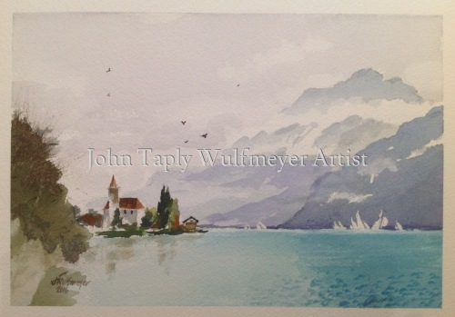 """Sailing on the Brienzsee"""
