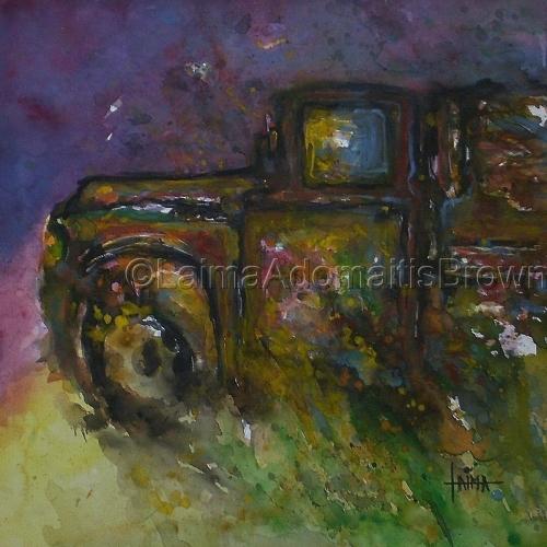 Retro Rusty Truck, Three (series)