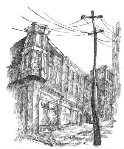 STREET VIEW. ZURICH (2007)