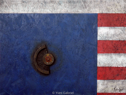 US Flag Series: Romney's Takers (large view)