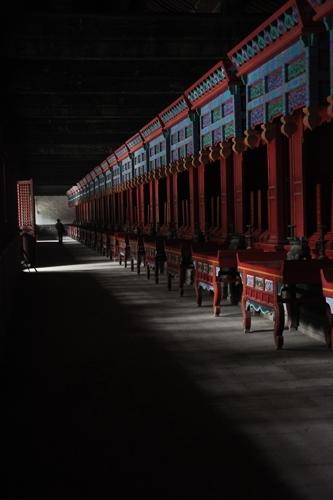Qufu; Confucian Scholar Desks