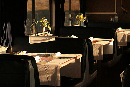 Dining Car, Sunset