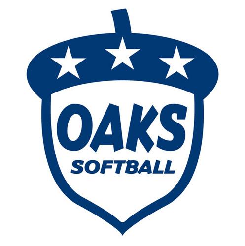 Oaks Softball Acorn logo