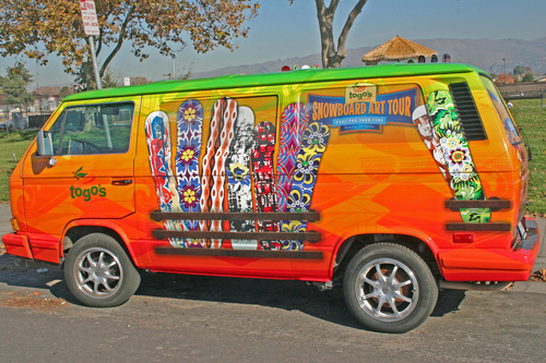 Togo's Snowboard Art Tour