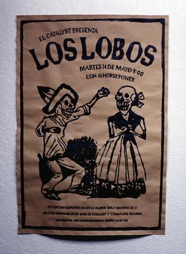 Los Lobos Concert Poster