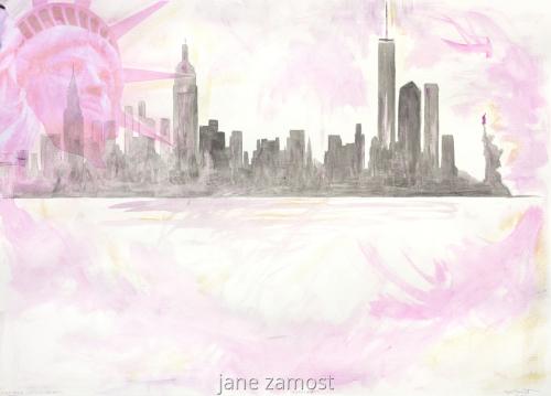 Lady Liberty by JANE ZAMOST