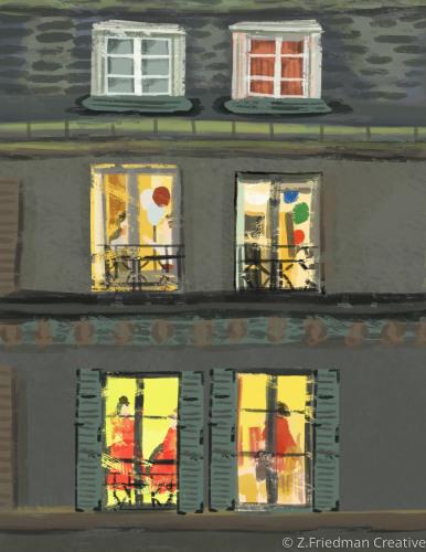 townhouse windows