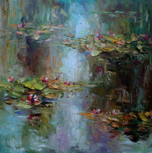 Water Lilies - Afternoon