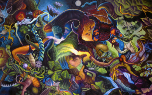 Electric Forest by John Berg Paintings