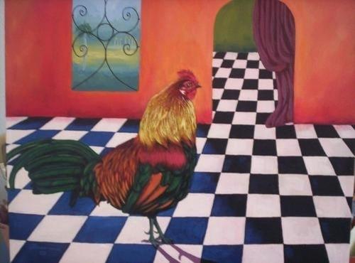 Rooster in Havana